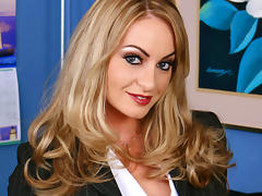Aline & Sean Michaels in Naughty Office