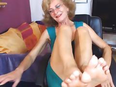 Granny, Amateur, Feet, Granny, Mature, Old