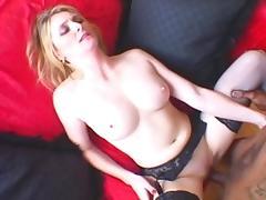Fabulous pornstar in best interracial, cunnilingus sex movie