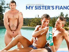 Phenix Saint & Alexander Gustavo & Max Penn in My Sister's Fiance XXX Video - NextdoorTwink