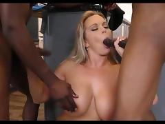 Amber almost blind after gangbang