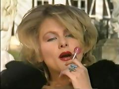 Classic retro vintage french big boobs