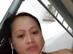 Filipina horny girl masturbating on cam