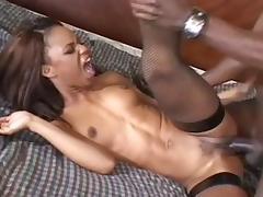 Hottest pornstar Marie Luv in exotic black and ebony, facial xxx clip