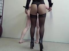 Asian Mistress Ayal Hard Ballbusting