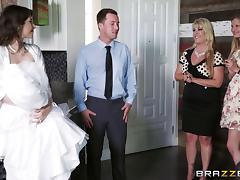 Bride, Beauty, Blowjob, Bride, Couple, Cowgirl