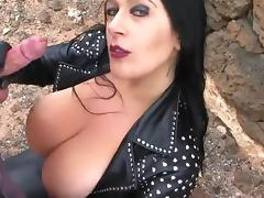 Biker, Amateur, Biker, Blowjob, Latex, Leather