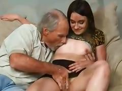 Sexy college girl Fucks uncle Till daddy Comes Home !
