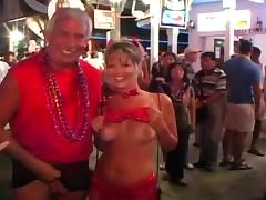 Mardi Gras, Amateur, Bitch, Boobs, Exhibitionists, Flashing