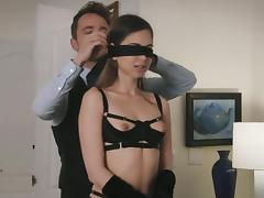 Cheating, Adultery, Blindfolded, Bra, Cheating, Couple