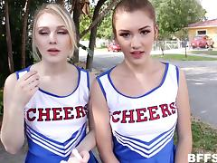 Casting, Audition, Casting, Cheerleader, Foursome, Group