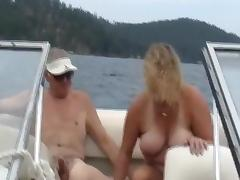 Boat, Amateur, Boat, Mature, Outdoor, Swingers