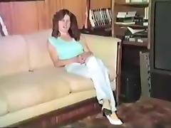 Vintage disrobe and sex