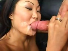 Crazy pornstars Lucy Lee, Cherry Lane and Roxy Sweet in fabulous blowjob, asian adult movie