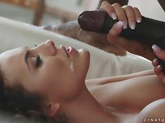 Adorable, Adorable, Close Up, Couple, Cum in Mouth, Cumshot
