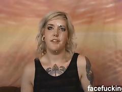 Ada Bomb throat slammed hard and ass fucked