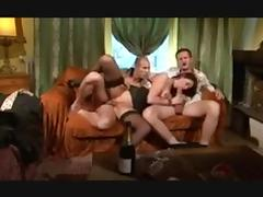 Hot milf love gangbang and anal