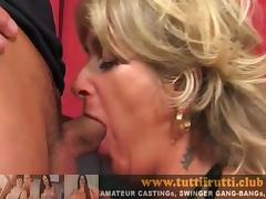 Euro mature Christina sexmachine anal