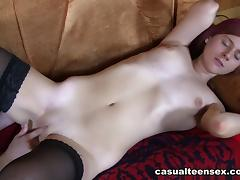 Mike & Margo in Quickie With Redhead In Nylons - CasualTeenSex