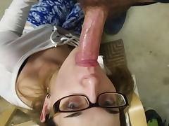 Sucking dick