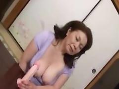 Asian Granny, Asian, Masturbation, Mature, Old, Toys