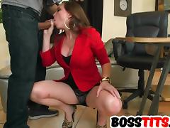 Boss, Big Tits, Boobs, Boss, Office, Tits