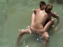 Beach, Beach, Boobs, Couple, Fucking, Nudist