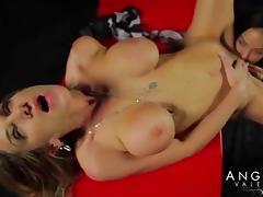 Babe, Babe, Big Tits, Boobs, Lesbian, Lick