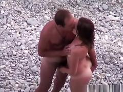 Beach, Beach, Couple, Cunt, Fucking, Horny