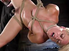 BDSM, BDSM, Blonde, Bound, MILF, Nude
