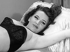 1950, Babe, Brunette, Classic, Ebony, Fetish