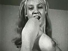 1960, Ass, Babe, Blonde, Classic, Pornstar