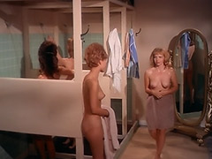 Dirty Babes Taking Hot Shower 1960