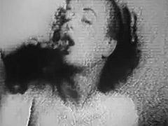 1950, Babe, Blonde, Classic, Masturbation, Vintage