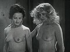 1950, Amateur, Babe, Blonde, Blowjob, Classic