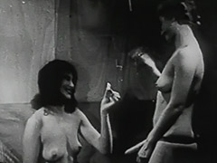 1940, Babe, Classic, Fetish, Group, Threesome