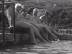 Nudist Teens Have a Good Time 1930