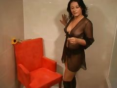Bianca From Belgium Plays with her Toys