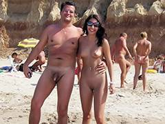 Aged, Aged, Beach, Cougar, Couple, Hidden