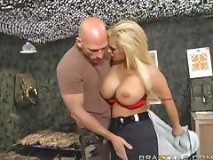 Army, Army, Ass, Big Tits, Blowjob, Cop