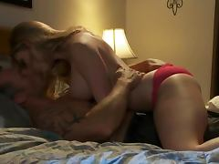 Bra, Big Tits, Blonde, Blowjob, Bra, Close Up