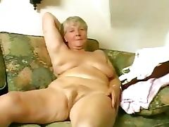 hairy-granny - Hairy granny gets her pussy plowed by dick