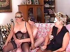 Amateur Lesbian Matures Go Wild In a Bonerific Masked Swingers Orgy