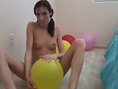Balloon, Amateur, Ass, Balloon, Dirty, Fetish