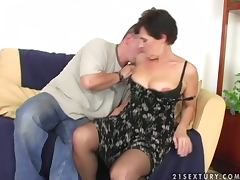 Mature, Blowjob, Couple, Cumshot, Doggystyle, Hairy