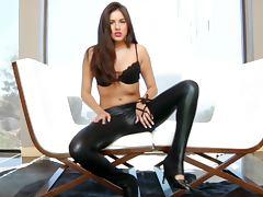 Hot Girl with Leggings