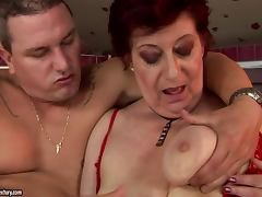 Insatiable Granny In Desperate Need to Reach an Orgasm