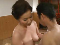 Asian Mature, Big Tits, Couple, Fingering, Mature, MILF