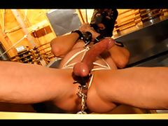 Pussyboy Bondage Crotch Rope Torture and CBT