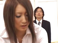 Sexy Asian Teacher Yuu Kurasaki Getting Fucked in the Classroom